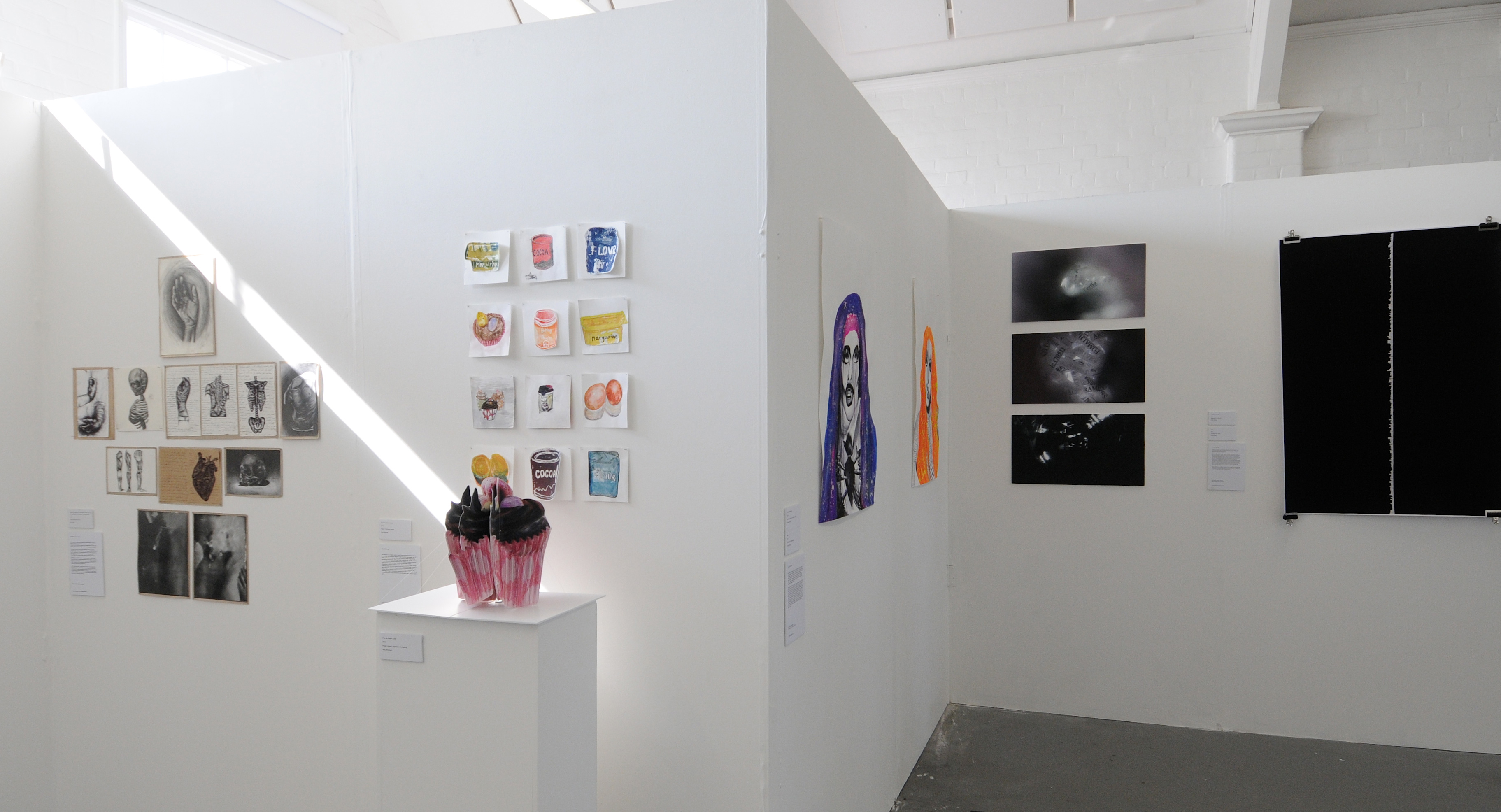 Student artwork showcased at London exhibition