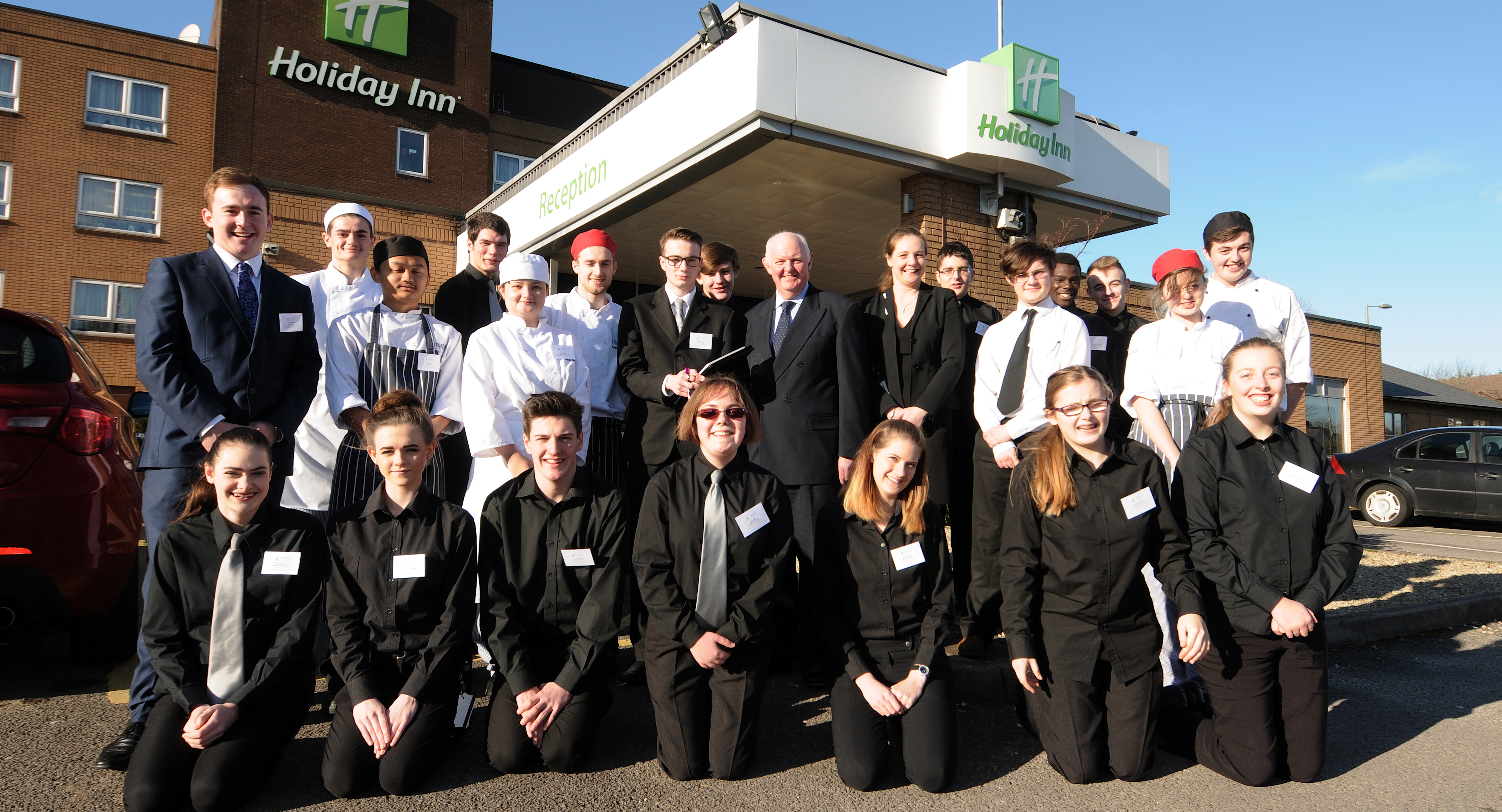 Hospitality and Catering students manage the Holiday Inn!