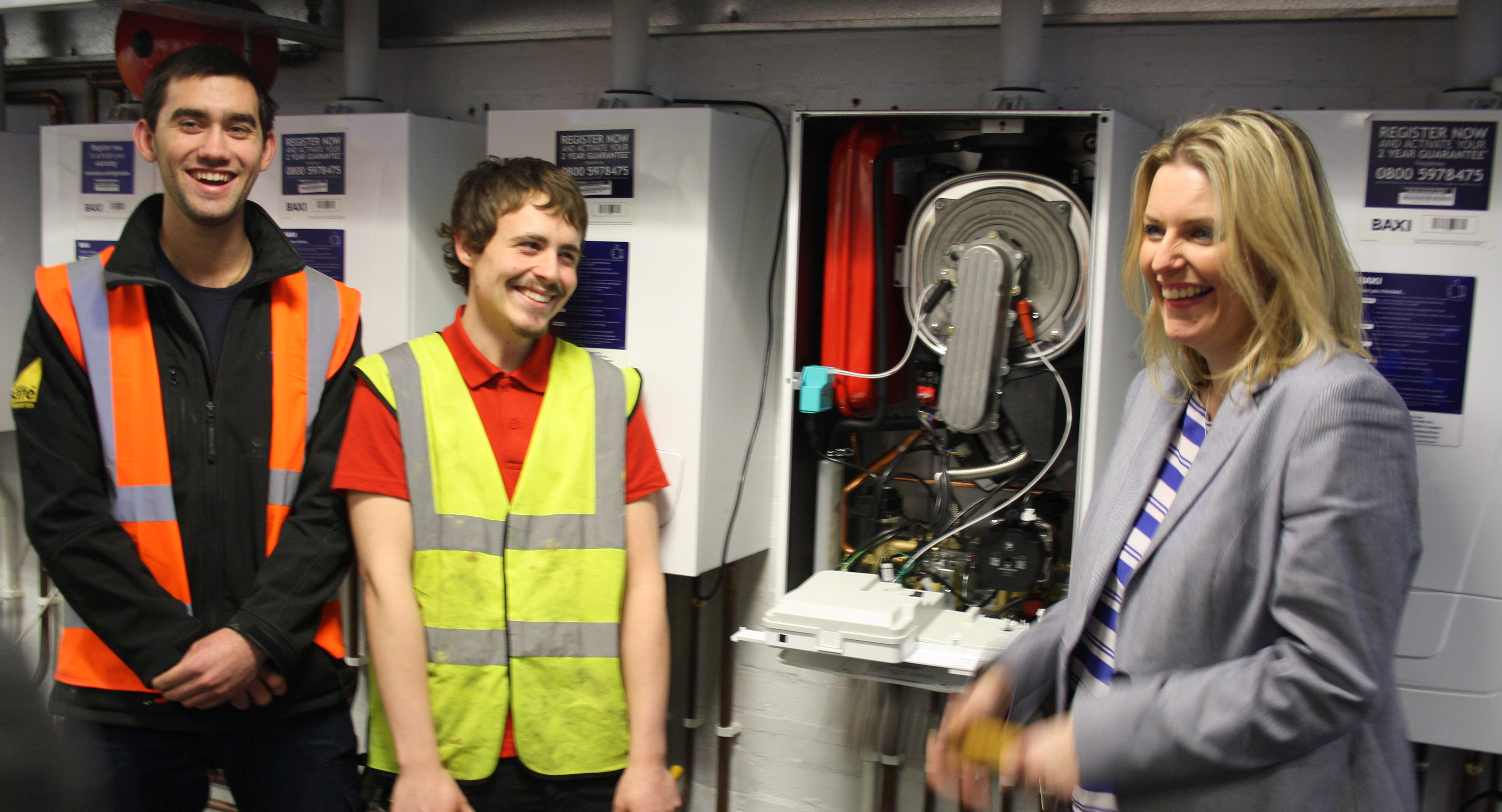 MP Mims Davies visits Eastleigh College to promote skills training